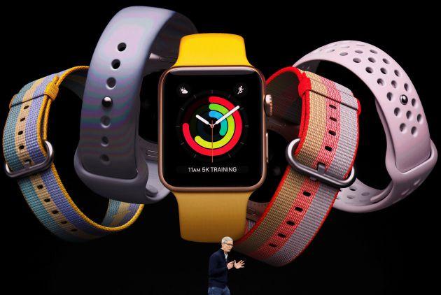 El Apple Watch está centrado en las actividades deportivas y la salud.