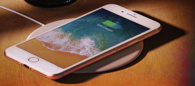 El iPhone 8 contará con carga inalámbrica.