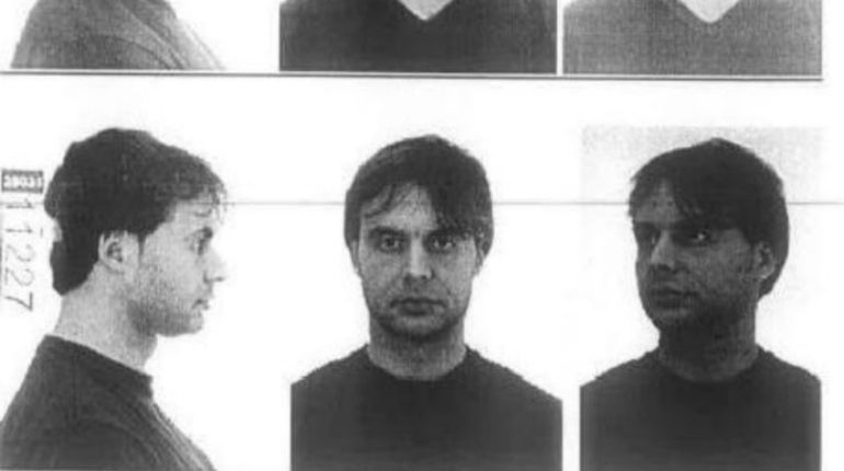 Ficha policial de Ortiz incluida en el sumario de la investigación