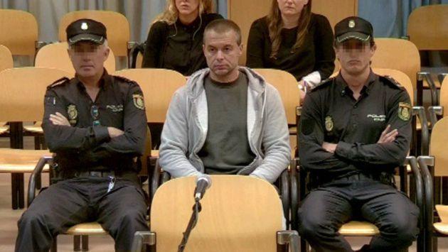 Ortiz durante el juicio en la Audiencia Provincial