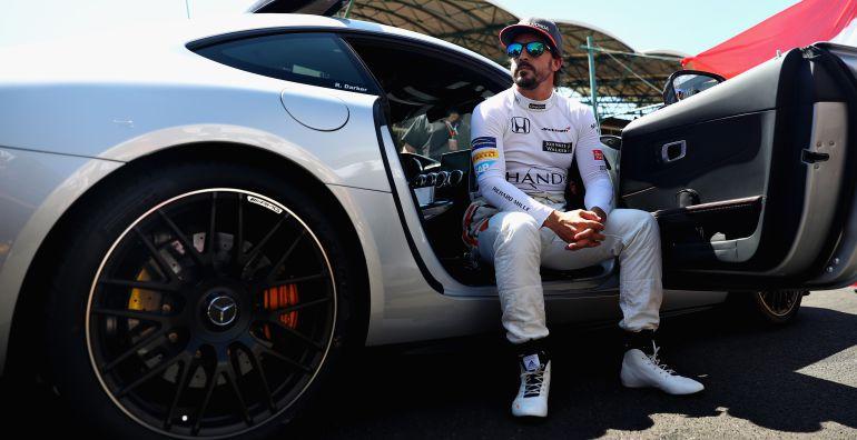 Fernando Alonso, en el último Gran Premio de Hungría.