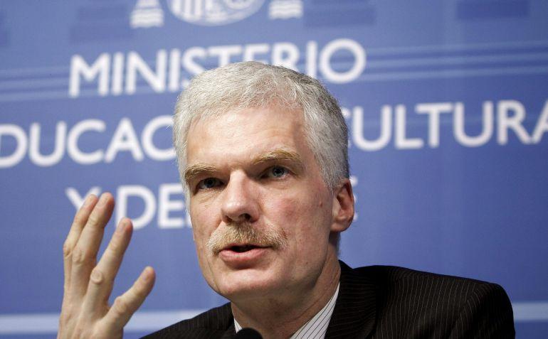 """El responsable de educación de la OCDE y """"padre"""" de PISA, Andreas Schleicher"""