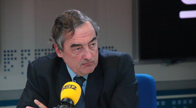 Juan Rosell, durante una entrevista en la SER (Archivo).