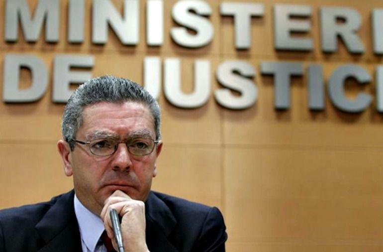 El exministro de justicia, Alberto Ruiz-Gallardon, en una foto de archivo