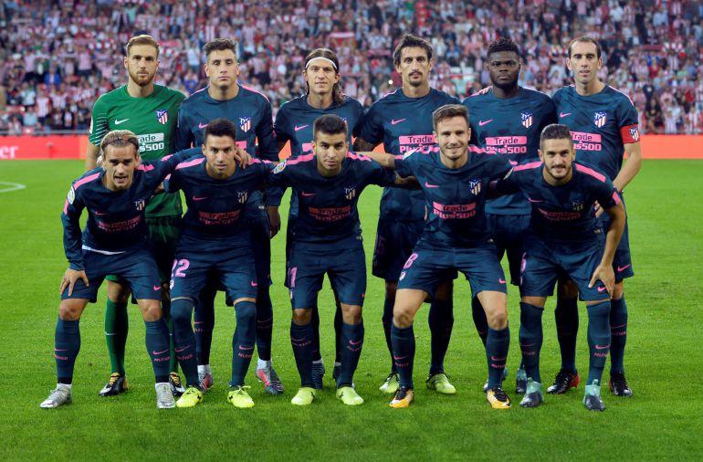 traje Atlético de Madrid futbol