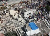 México informa de 223 víctimas por el fuerte terremoto en el centro del país