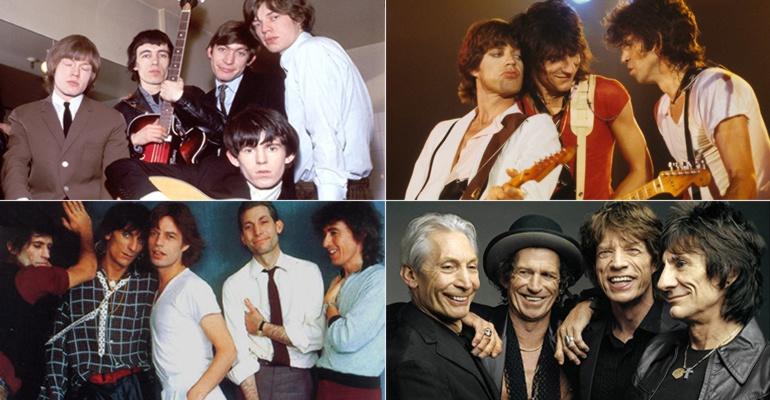 Los Rolling Stones desde sus inicios hasta la actualidad
