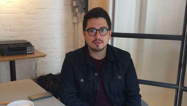 Antonio Martínez, una de las cuatro personas que comenzó con el proyecto Verificados 19S tras el terremoto que sacudió el centro de México.