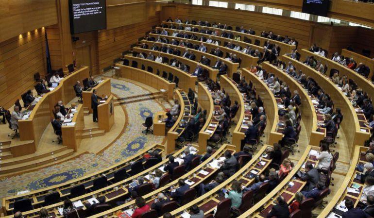 El Pleno del Senado, en una imagen de archivo.
