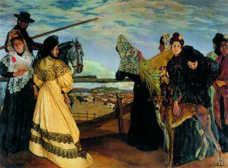 'Zuloaga en el París de la Belle Époque' en la Fundación Mapfre: La España negra de Zuloaga era solo gris