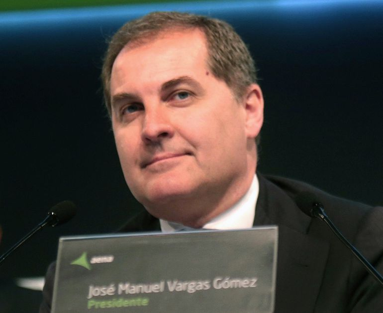 Fotografía de archivo del ya expresidente de Aena José Manuel Vargas