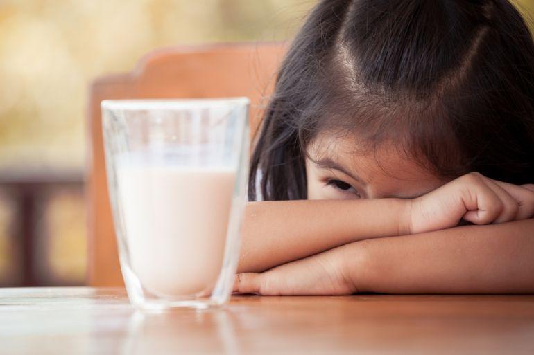 No a todo el mundo le sienta bien la leche de vaca....