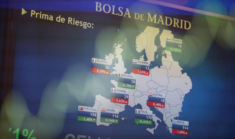 La prima de riesgo española el pasado 22 de septiembre