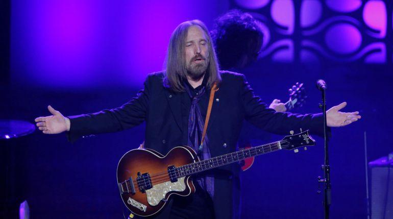 Tom Petty durante una actuación en junio de 2016