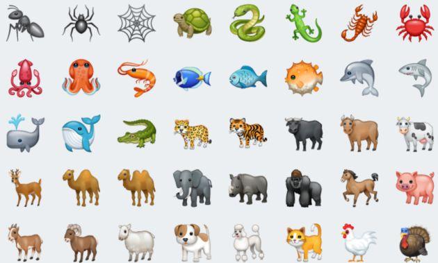 Los nuevos emojis de WhatsApp.