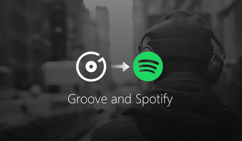 Microsoft se pasa a Spotify.