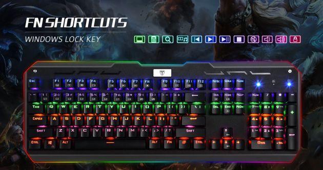 El teclado cuenta con retroiluminación.