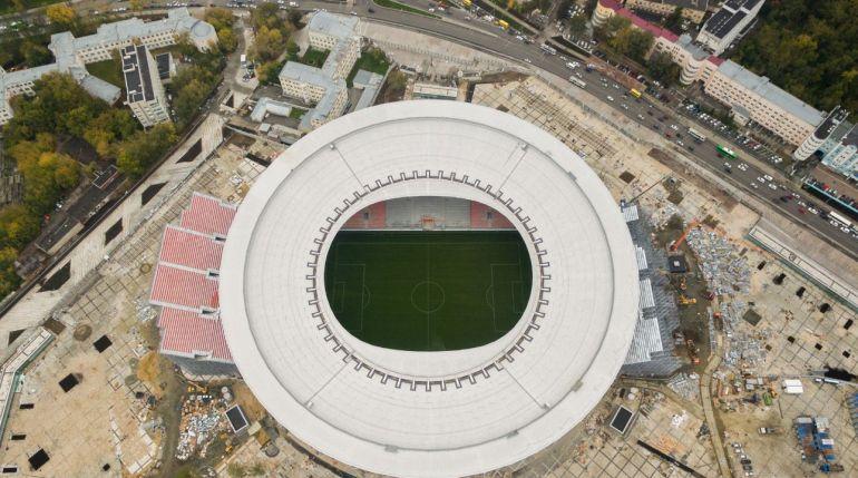 Estadio Ekaterimburgo Arena, una de las sedes del Mundial 2018