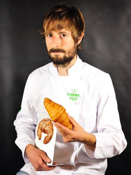 Gil Prat, autor del 'Mejor Croissant de Mantequilla' de España 2017.
