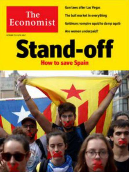 La portada de la edición europea del 7 de octubre de The Economist