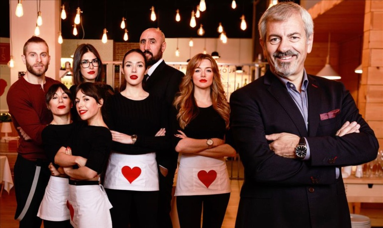 Equipo original de 'First Dates'
