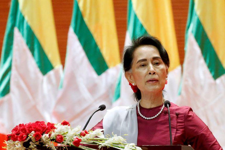 la premio nobel de la paz San Suu Kyi, cuestionada por no alzar su voz ante la crisis de los rohingyas que su gobierno ha provocado