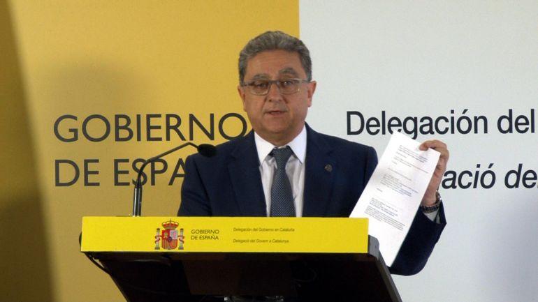 El delegado del Gobierno en Catalña, Enric Millo.
