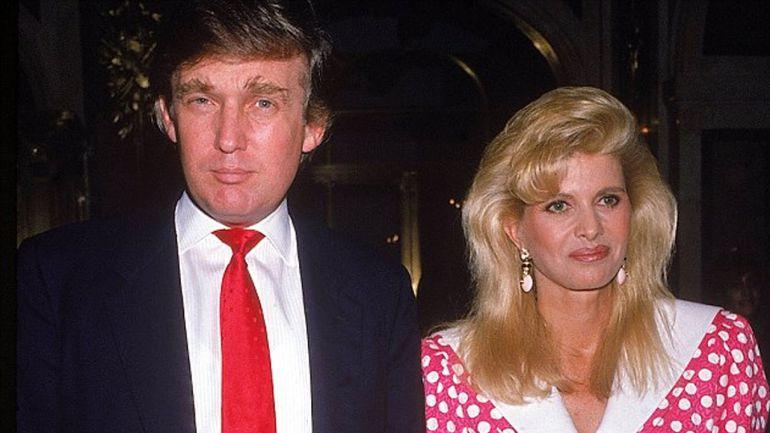 Ivana y Donald Trump durante su matrimonio