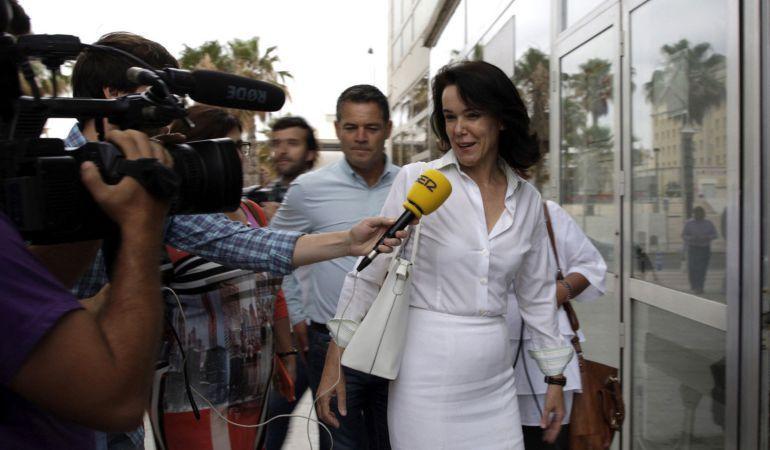 La exconsejera de Bienestar Social de Melilla, María Antonia Garbín.