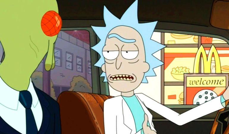 Rick habla sobre la famosa salsa.