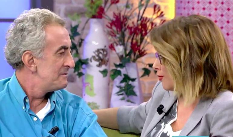 Chapis concede una entrevista a Toñi Moreno en 'Viva la vida'