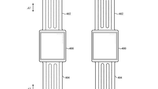 El cable ayudaría a enviar impulsos desde el Apple Watch para ajustar la correa.