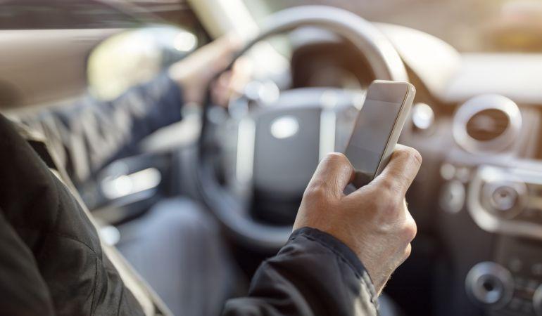 La aplicación no te molestará mientras conduzcas.