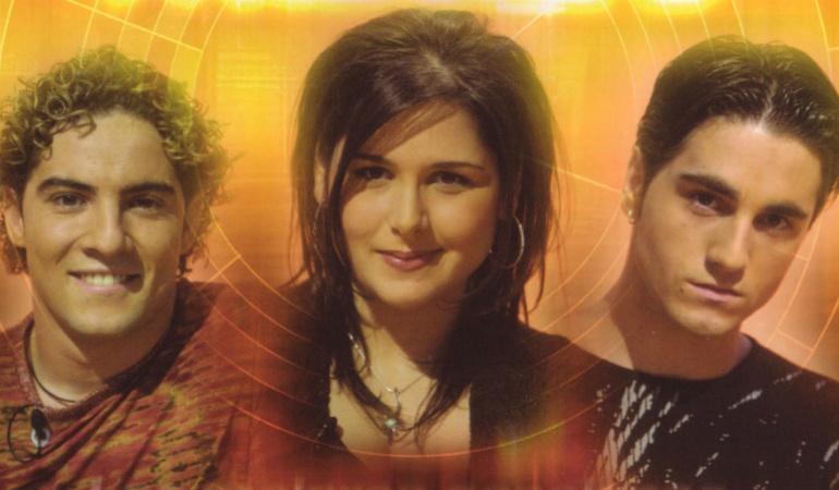 David Bisbal, Rosa y Bustamante, finalistas de 'OT1'