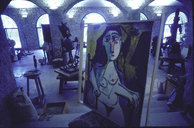 El interior de 'Mas de Notre Dame de Vie'