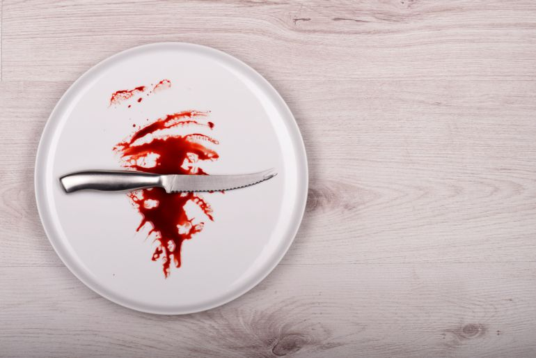 La sangre es el 'plato' preferido de los vampiros.