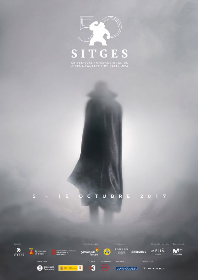 Cartel de la edición número 50 del Festival de Sitges.