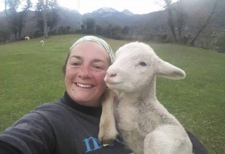 Las mujeres ganaderas también se hacen 'selfies', ¡pero a su manera!