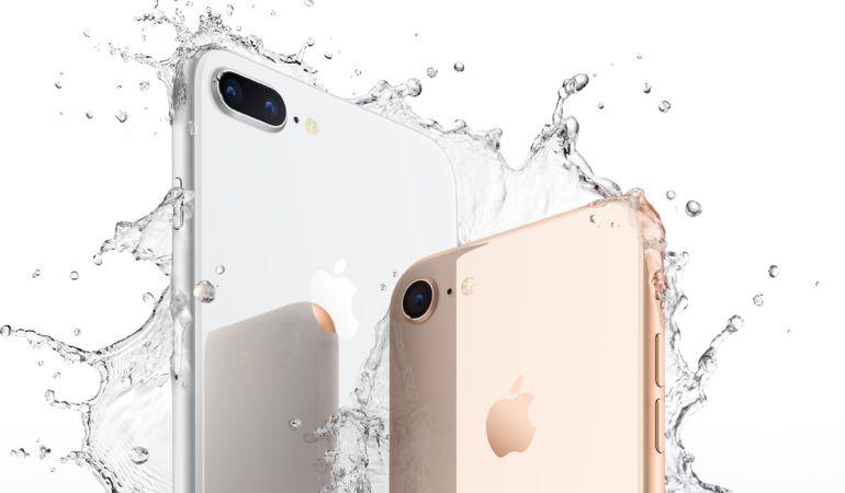 Resultado de imagen para iphone 8 resistente al agua