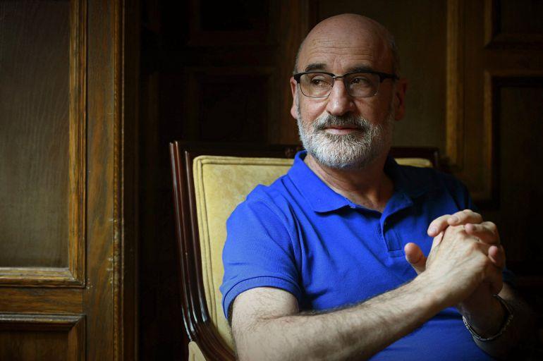 Fotografía de archivo del escritor Fernando Aramburu