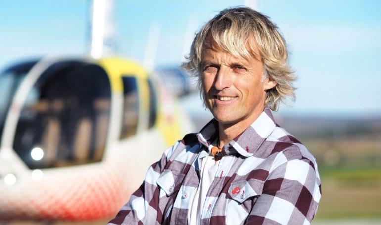 Jesús Calleja, presentador de 'Volando voy' (Cuatro)