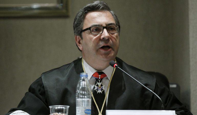 El fiscal jefe de la Audiencia Provincial de Madrid, José Javier Polo, en una foto de archivo.
