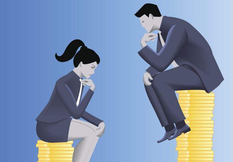 Desigualdad: Las mujeres ganan de media un 15% menos que los hombres en España