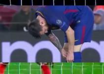 La extraña imagen de Messi que está dando la vuelta al mundo