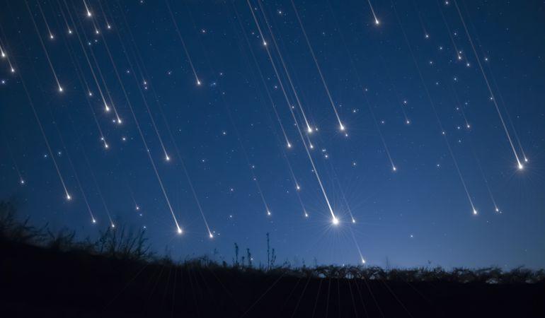 La lluvia de estrellas será visible durante este fin de semana.