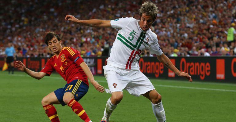 Imagen del España - Portugal de la Eurocopa de 2012