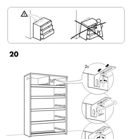 Muere un octavo ni o aplastado por una c moda de ikea que for Instrucciones muebles ikea