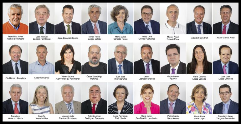 Los siete grupos parlamentarios del Senado registran hoy los nombres de los 27 senadores que van a formar parte de la nueva comisión del artículo 155
