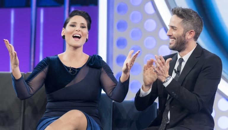 Rosa López y Roberto Leal en el debut de 'OT 2017'