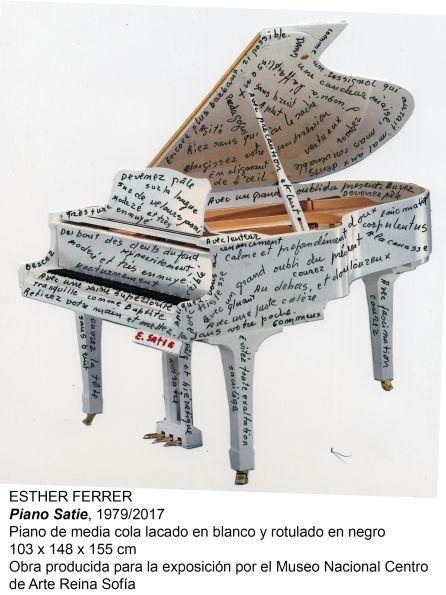 """Esther Ferrer recorre su trayectoria en la exposición 'Todas las variaciones son válidas, incluida esta', del Museo Reina Sofía: Esther Ferrer: """"El arte es mi único espacio de libertad"""""""